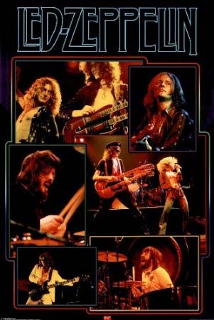 Led Zepplein Posters